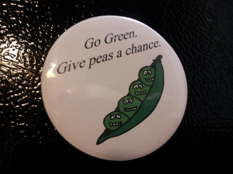Go Green, Give peas a chance