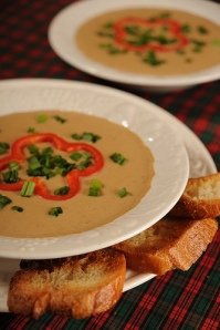 Roasted Chestnut Soup by Apron Strings
